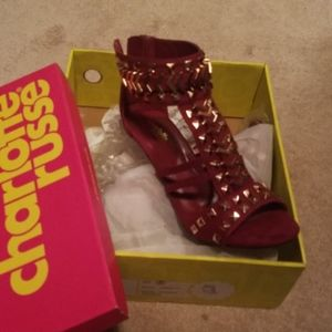 Size 8 high heels shoes